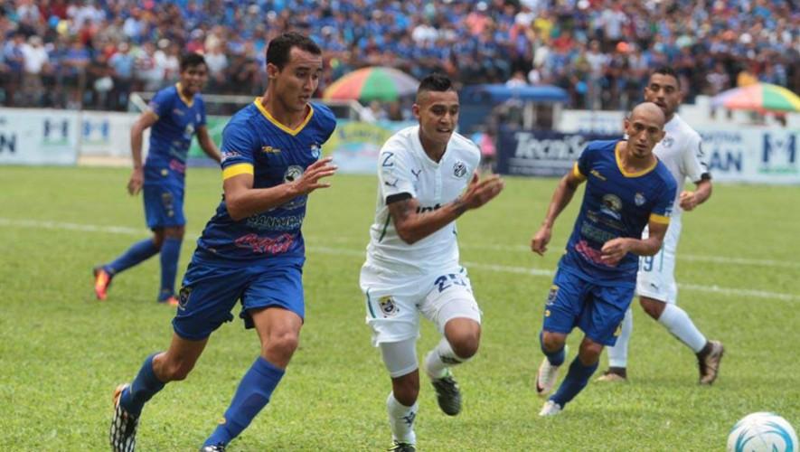 Partido de ida Cobán vs Comunicaciones por cuartos de final del Torneo Apertura   Noviembre 2016