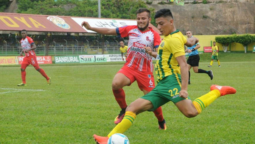 Partido de ida Guastatoya vs Malacateco por cuartos de final del Torneo Apertura | Diciembre 2016