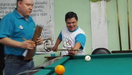 Atletas con diferentes discapacidades compitieron durante dos días en los Juegos Nacionales. (Foto: Asobigua)