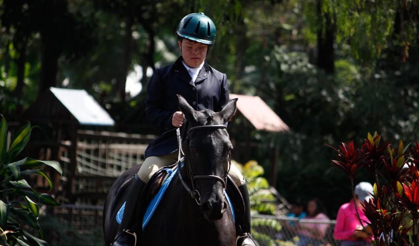 20 binomios compitieron en la primera edición de estos Juegos Nacionales Adaptados en Guatemala. (Foto: Prensa ANEG)