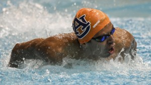 Luis Carlos Martinez Auburn swimming vs Kentucky on Wednesday, Oct. 12, 2016 in Auburn, Ala. Photo by Wade Rackley/Auburn Athletics