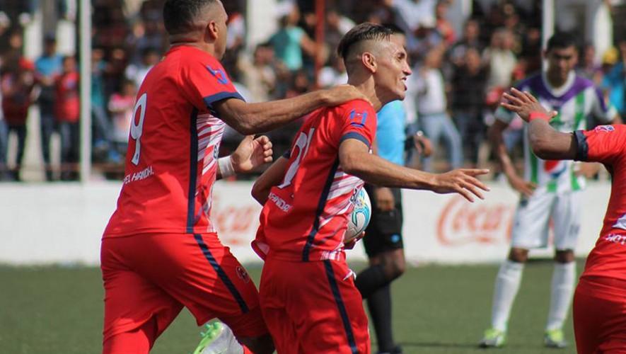 Partido de Malacateco vs Guastatoya por el Torneo Apertura   Noviembre 2016