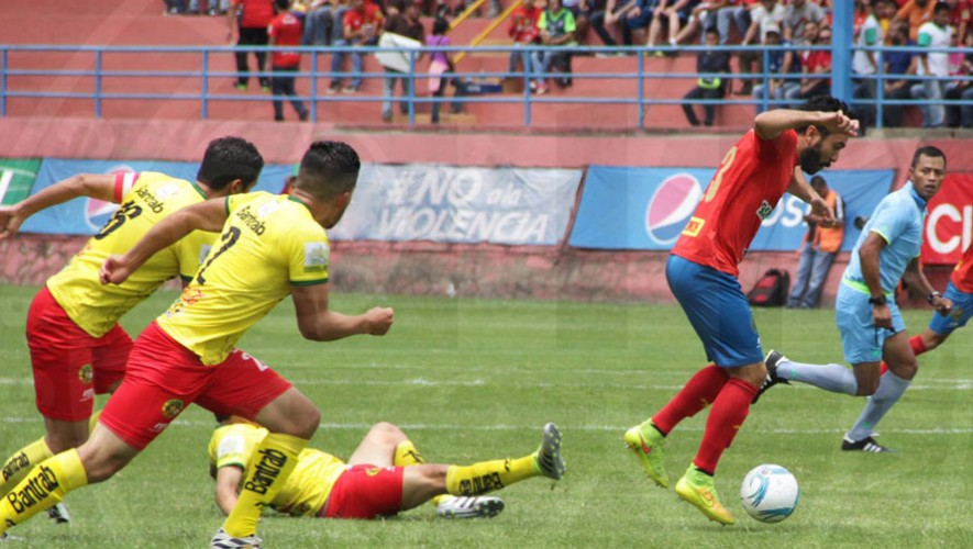 Partido de Marquense vs Municipal, por el Torneo Apertura   Noviembre 2016