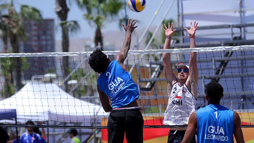 Esta es la segunda participación de Guatemala en unos Juegos Bolivarianos de Playa. (Foto: COG)