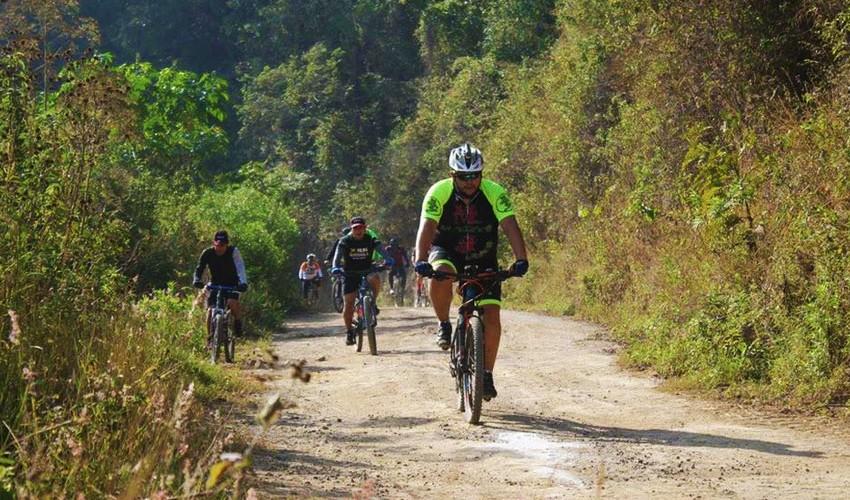 Primer Desafío Malena Bike MTB   Noviembre 2016