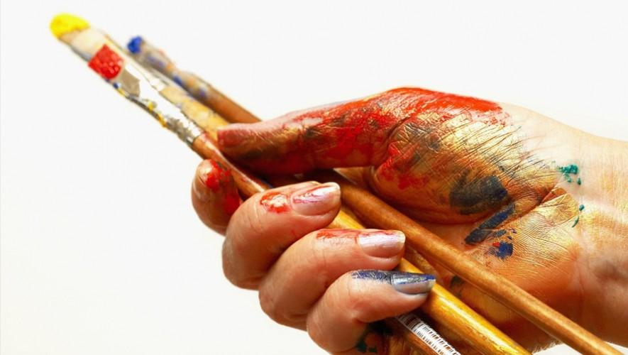 Taller de Pintura Acrílica en Platino | Noviembre 2016
