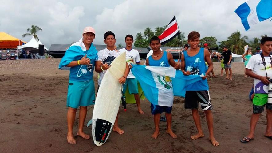 Guatemala buscará quedarse con el título centroamericano de surf. (Foto: Asosurf)