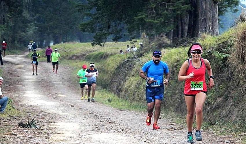 Los paisajes de la Finca Agua Tibia recibirán a los mejores ultramaratonistas del país. (Foto: GuatEventos)
