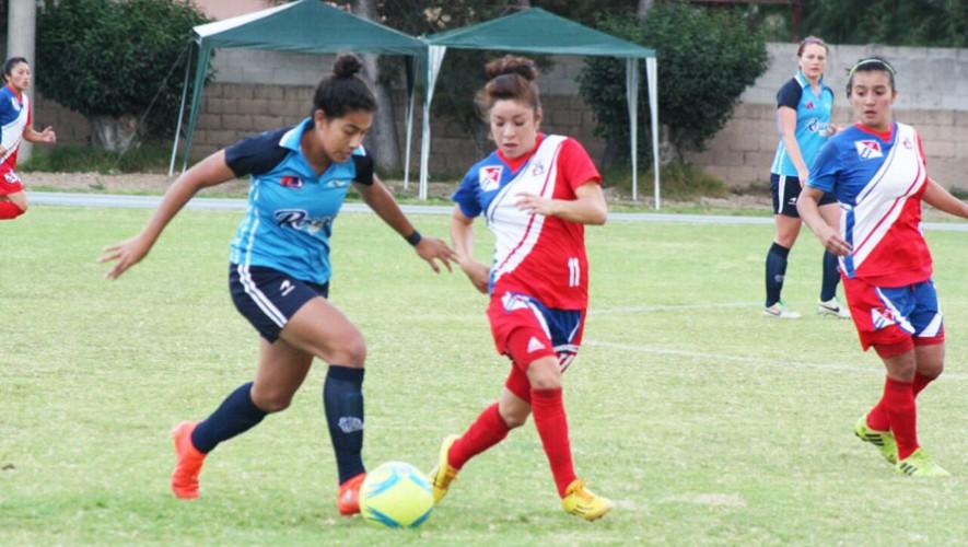 Partido de vuelta Unifut vs Xela por la final del Torneo Apertura Femenino | Diciembre 2016