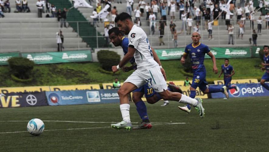 Partido de vuelta Comunicaciones vs Cobán por cuartos de final del Torneo Apertura   Diciembre 2016