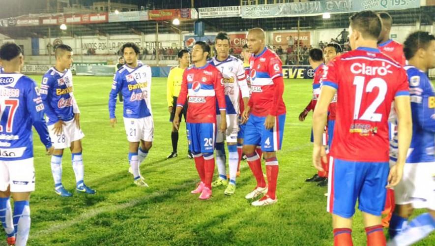 Partido de Suchitepéquez vs Xelajú, por el Torneo Apertura | Noviembre 2016
