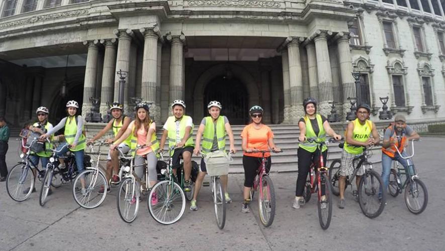 Paseo en bicicleta por el Centro Histórico y zona 4 | Diciembre 2016