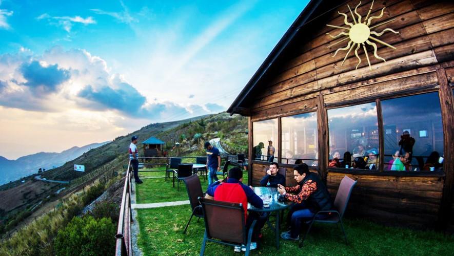 cafetería ubicada en la Sierra de los Cuchumatanes en Guatemala