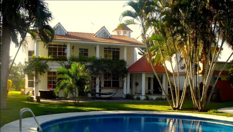 4ef6170873196 Casa a la orilla del mar - Casas del puerto grandes y lujosas que puedes  alquilar en Guatemala