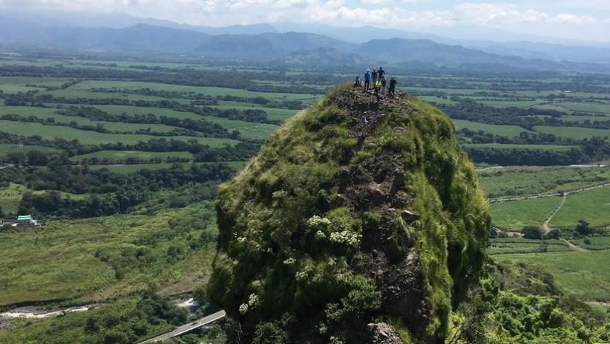 Viaje para escalar el Cerro Mirandilla en Escuintla | Enero 2017