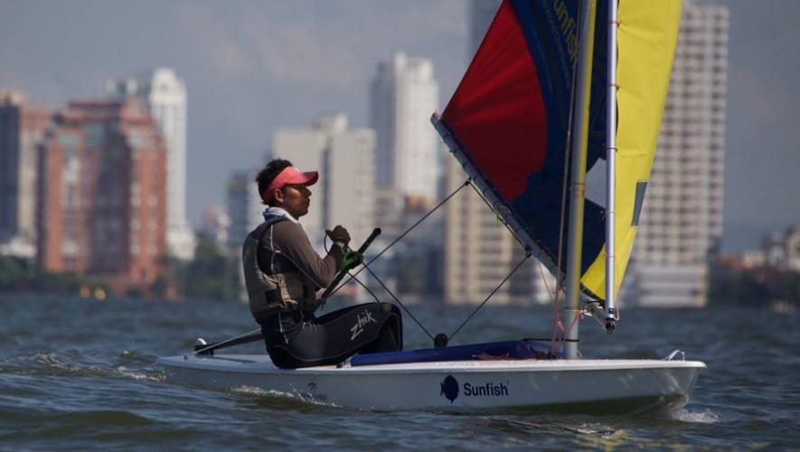 Hernández logró una gran regata en las aguas colombianas, consiguiendo un primer lugar y 2 segundos lugares. (Foto: Andrés Espinosa)