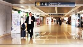 Los pasajeros ahora deberán estar tres horas antes de su vuelo en el Aeropuerto Internacional La Aurora. (Foto: Daniel Guarache)