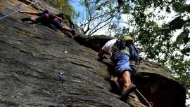 Guatemala recibió a varios escaladores de otros países que fueron parte de esta gran actividad extrema. (Foto: Chapin Rock Climbing)