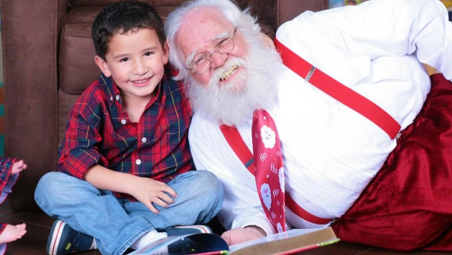 Alegra tus fiestas navideñas de una manera diferente con Santa Claus. (Foto: Santa de Guate)