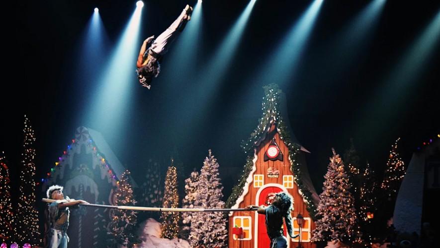 Santa's Circus en Fórum Majadas   Diciembre 2016