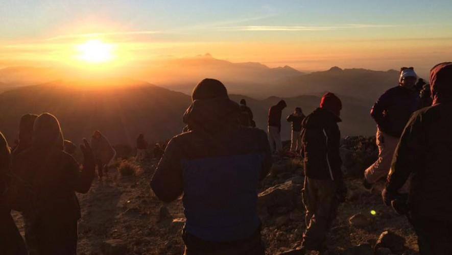 Ascenso al Volcán Tajumulco por K'ashem | Enero 2017