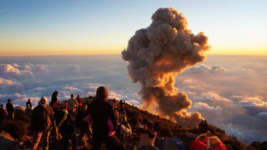 Ascenso al Volcán Santa María por Grupo Fuego | Enero 2017