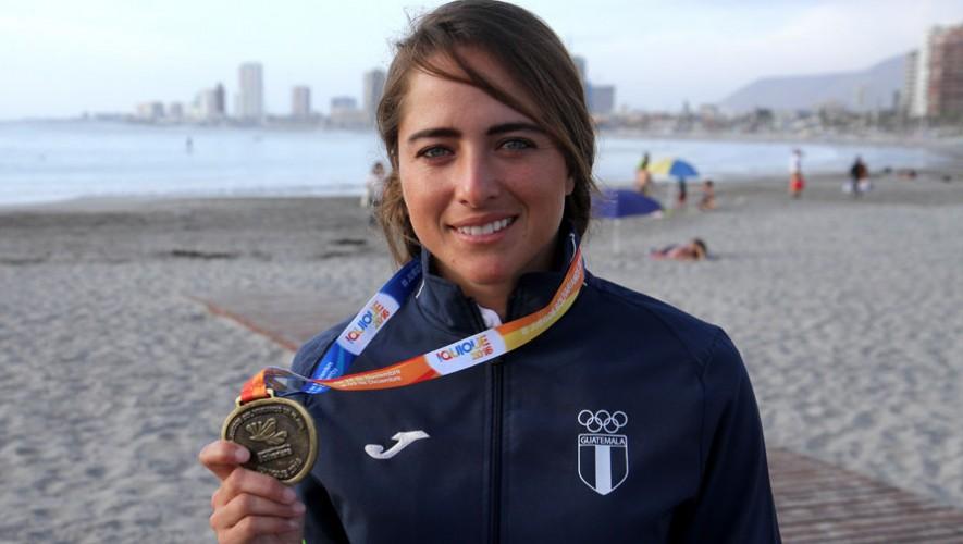 Andrea Aldana consiguió el bronce en la clase estándar femenino. (Foto: COG)