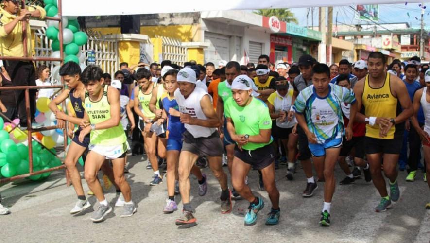 Carrera 10k Pajapita a beneficio de los Bomberos | Diciembre 2016