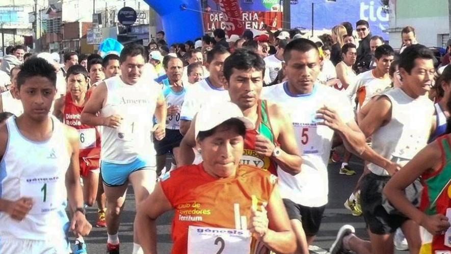 Carrera Navideña 10K Cronistas Deportivos Guatemaltecos   Diciembre 2016
