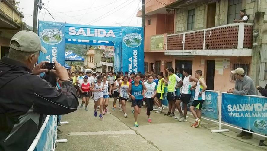Carrera Pedestre en Santiago Sacatepéquez | Diciembre 2016