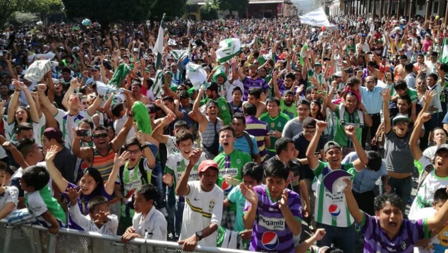La Antigua GFC consiguió su segundo título del fútbol guatemalteco en un año. (Foto: Aurora Samperio)