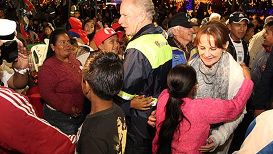 Cena de Navidad con el Alcalde Álvaro Arzú en la Municipalidad | Diciembre 2016