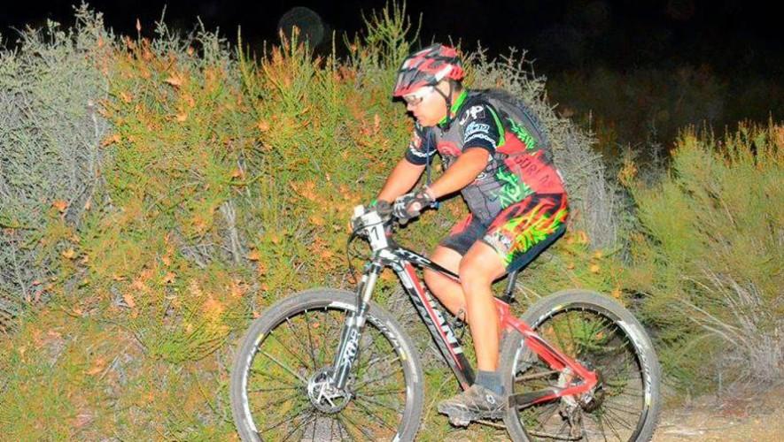 Colazo nocturno en bicicleta de montaña en El Socorro | Diciembre 2016