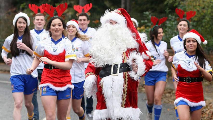 Carrera 7K Corriendo con Papá Noel en Cobán | Diciembre 2016