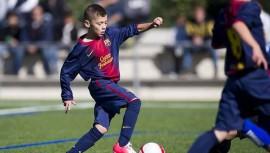 Emiliano pasó a la historia del fútbol guatemalteco, siendo el primero en estar en las filas del FC Barcelona. (Foto: Marcos Vinicio Herrera)