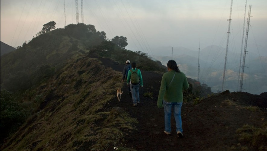 Ascenso Familiar en el Volcán Pacaya   Diciembre 2016