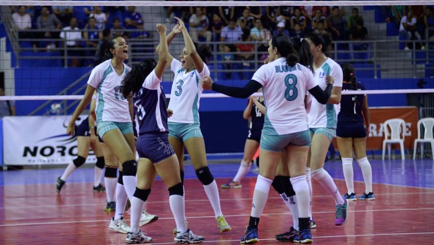 En el segundo partido, Guatemala superó sin ningún problema a El Salvador. (Foto: Afecavol)