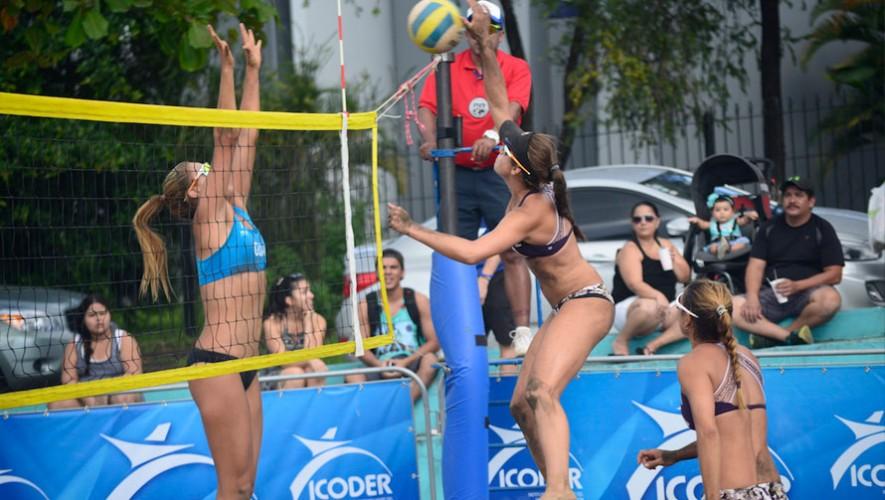 Mientras que las hermanas Orella se quedaron con el segundo lugar en la rama masculina. (Foto: Afecavol Voleibol)