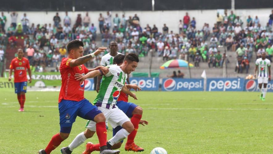 Partido de ida Antigua vs Municipal, final del Torneo Apertura   Diciembre 2016