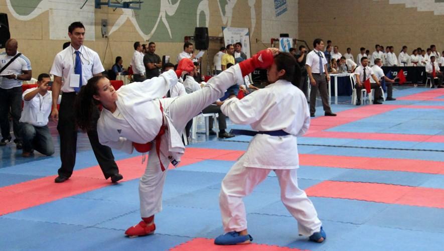 Los karatecas del departamento de Guatema consiguieron quedarse con 20 medallas, superando a Escuintla y Huehuetenango, con 11 cada una. (Foto: CDAG)
