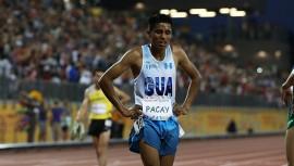 Mario Pacay es uno de los atletas con más futuro en Guatemala, actualmente cuenta con los mejores tiempos en Centroamérica. (Foto: COG)