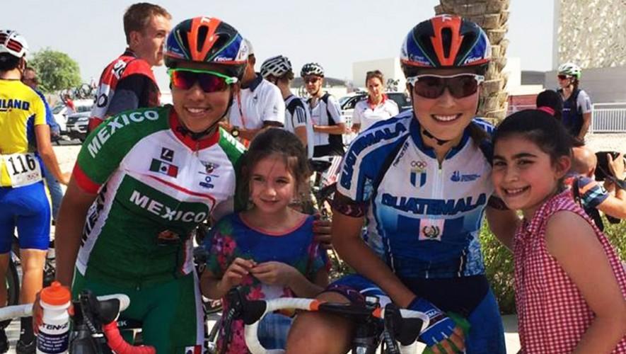 Nicolle será uno de los pocos ciclistas guatemaltecos que competirán a nivel profesional. (Foto: Nicolle Bruderer)