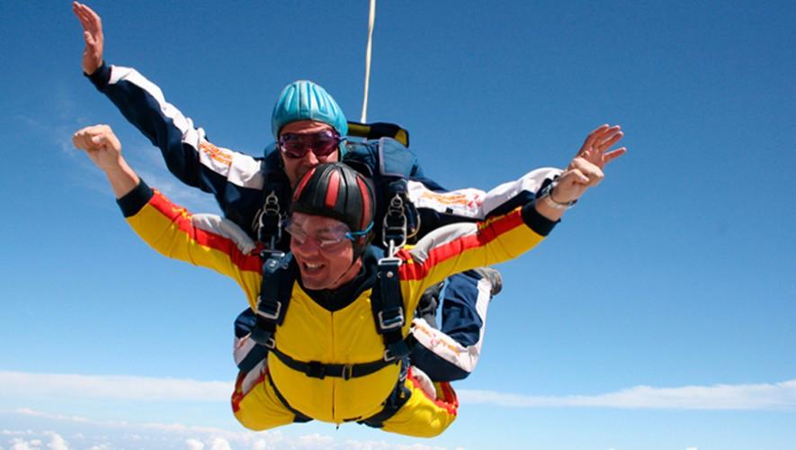 Salto en paracaídas en Escuintla | Diciembre 2016