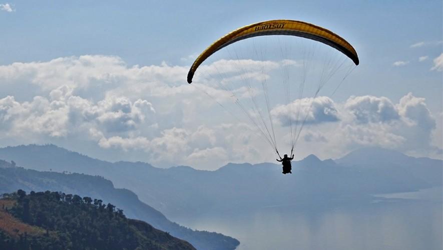 Viaje para volar en parapente en el Lago de Atitlán | Marzo 2017