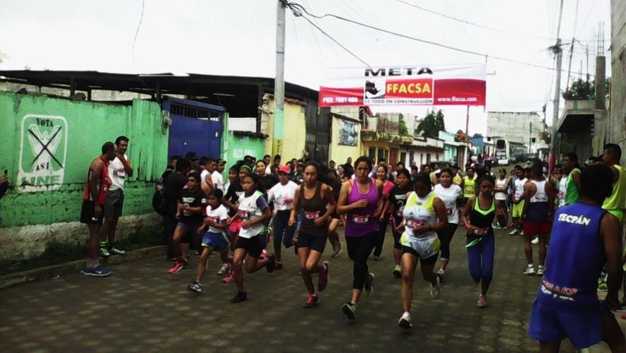 Carrera San Silvestre en Chimaltenango |Diciembre 2016