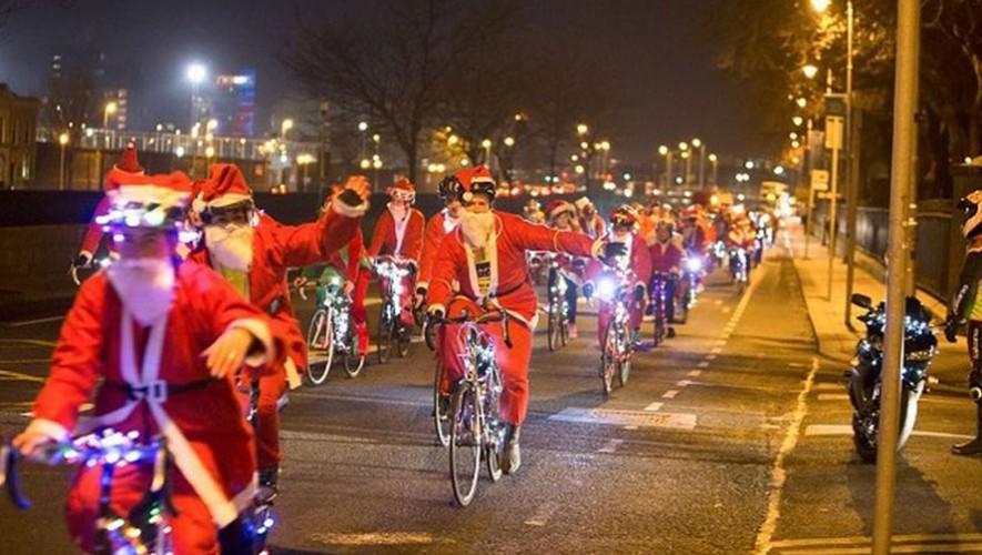 Colazo navideño nocturno en bicicleta | Diciembre 2016