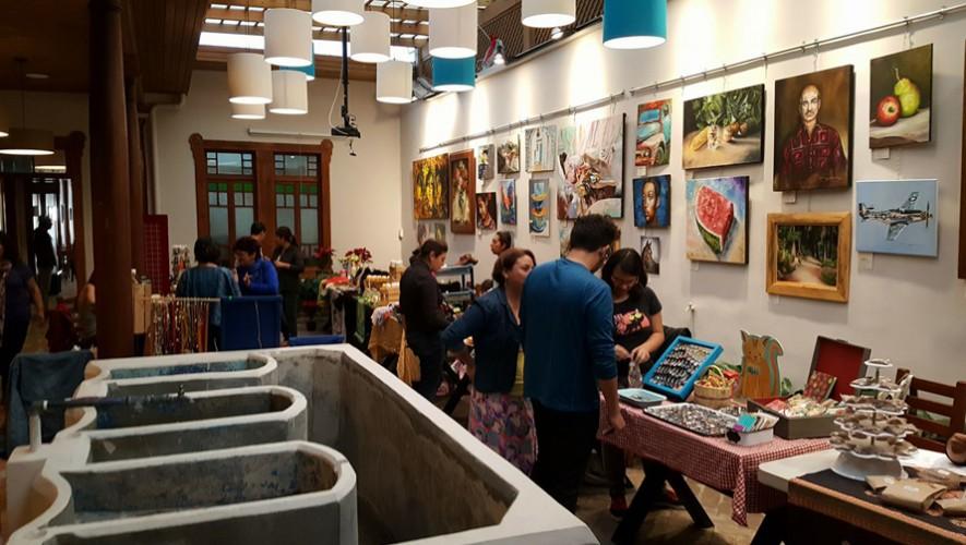 """Mercado navideño """"Monchis & Tiliches"""" en Pasaje Tatuana   Diciembre 2016"""