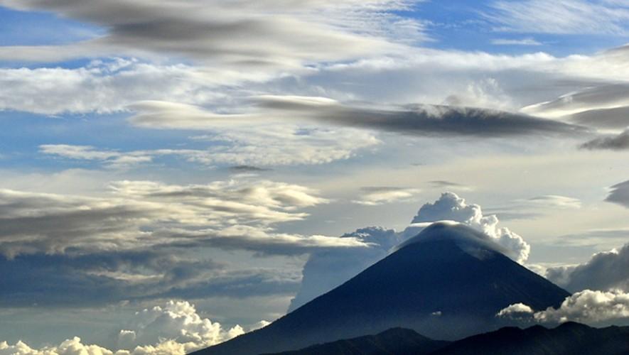 Limpieza en el Volcán de Agua   Enero 2017