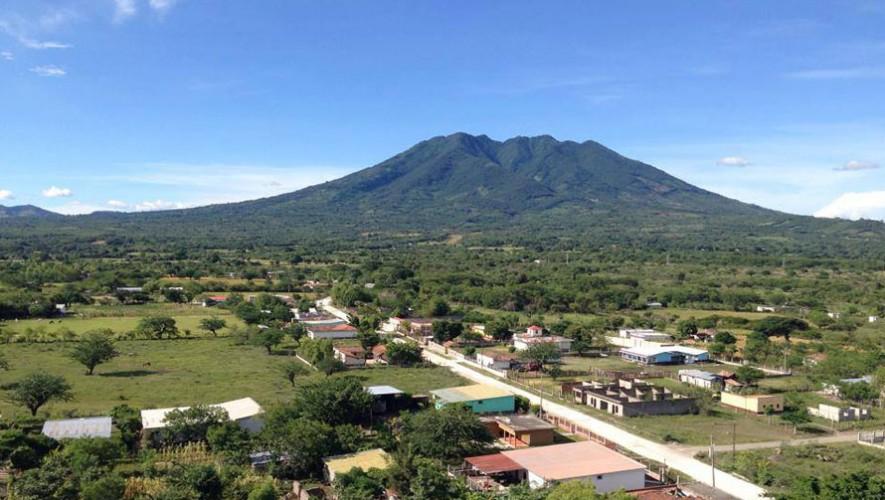 Ascenso a volcanes Suchitán y Quezaltepeque   Diciembre 2016