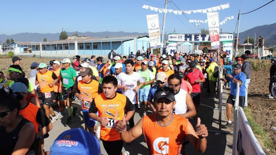 Media Maratón 21K de Ostuncalco   Febrero 2017